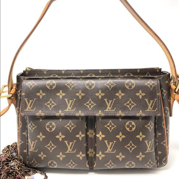 310f32206266 Louis Vuitton Handbags - Auth Louis Vuitton Viva Cite MM Shoulder Bag